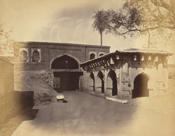 General view of the gateway of the fort, Belgaum
